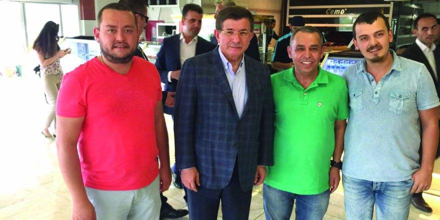 Davutoğlu Cemo Etliekmek'te