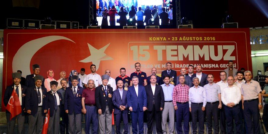 Konya'da demokrasi nöbetine katılan kişi sayısı açıklandı