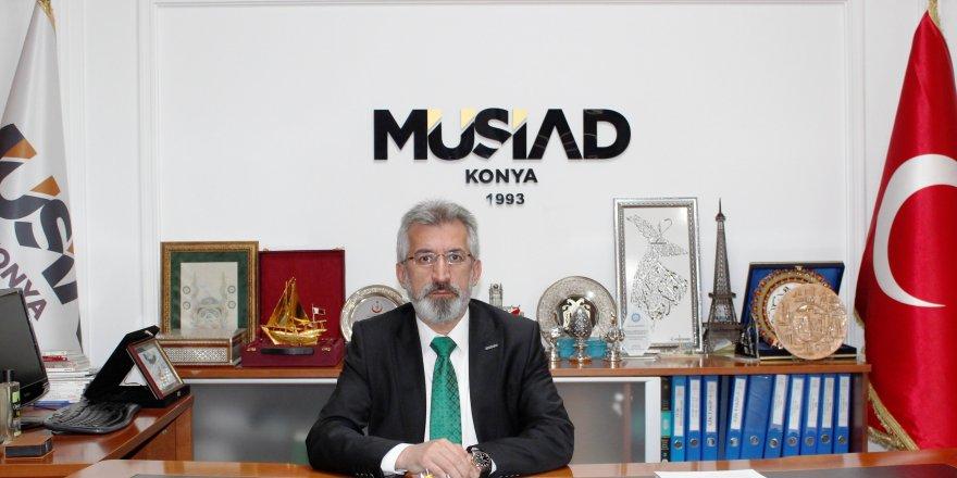 """MÜSİAD Konya Şubesi'den """"Fırat Kalkanı"""" açıklaması"""