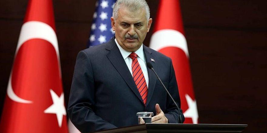 Başbakan Yıldırım: Pyd/ypg Fırat'ın Batısında Varlık Gösteremeyecek