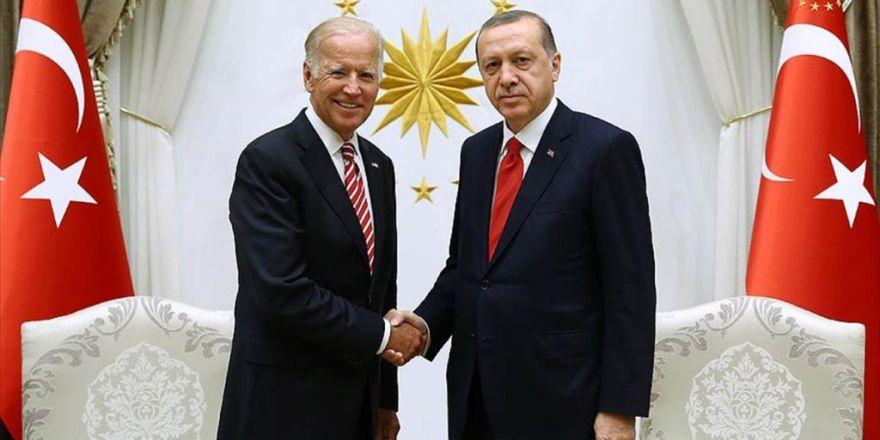 Cumhurbaşkanı Erdoğan Joe Biden'ı Kabul Etti