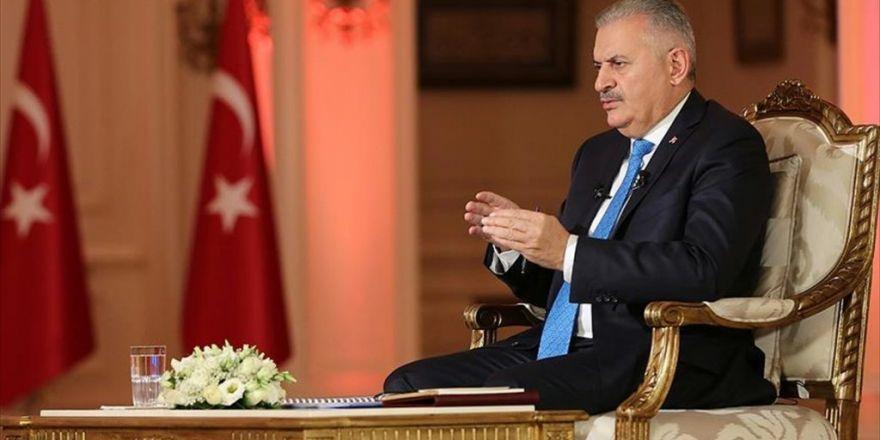 Başbakan Yıldırım: Cerablus Dahil Bütün Alan Ypg Ve Pyd'den Temizlenmeli'