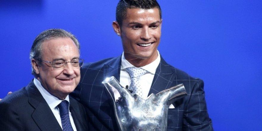 'UEFA Yılın Futbolcusu' ödülü Ronaldo'nun