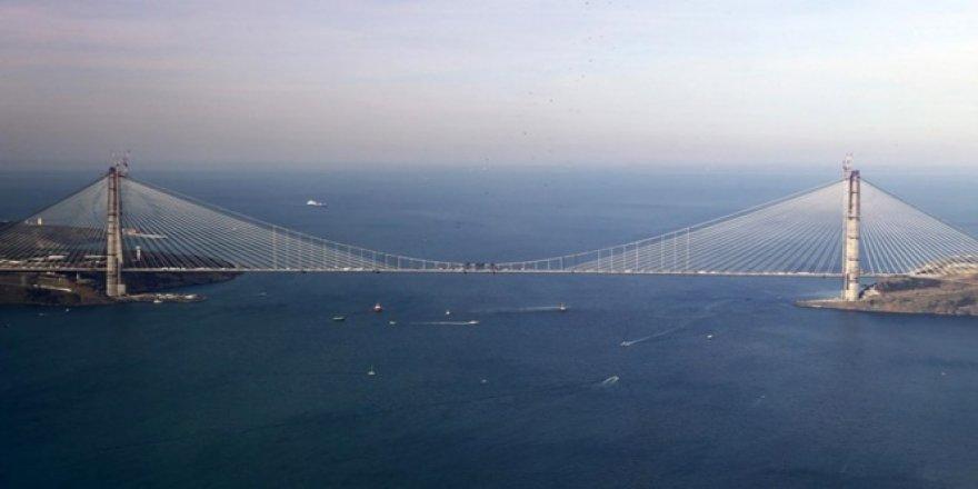 Yavuz Sultan Selim Köprüsü, bugün açılıyor