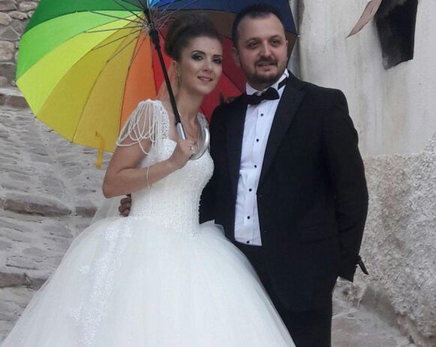 Dilek ve Erkan'a mutluluklar
