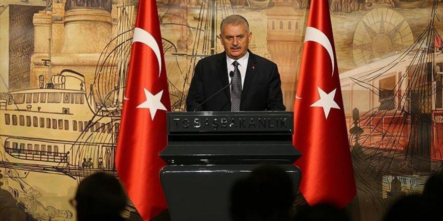 Başbakan Yıldırım: Hiçbir Terör Örgütü Türkiye Cumhuriyetini Esir Alamaz