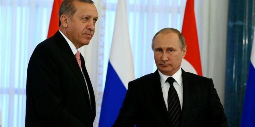 Erdoğan, Putin İle Telefonda Görüştü