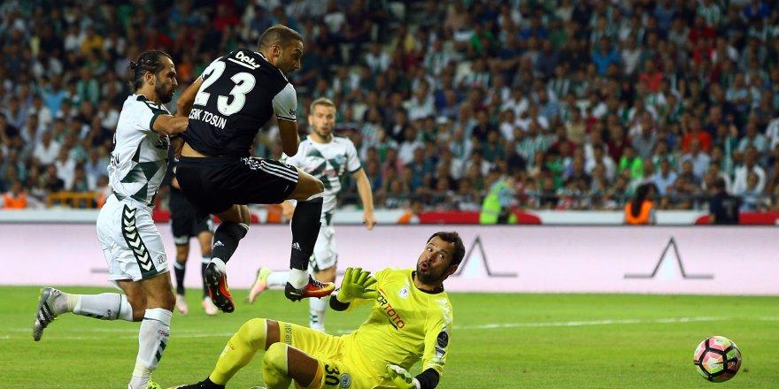 Atiker Konyaspor: 2 - Beşiktaş: 2