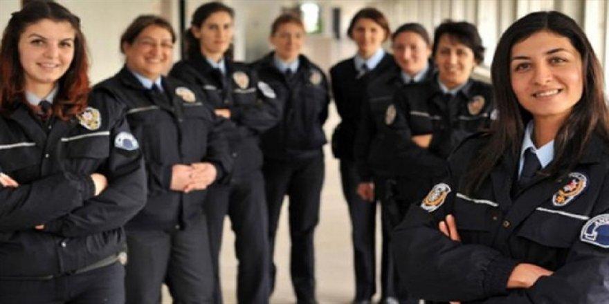 Kadın polisler başörtülü görev yapabilecek