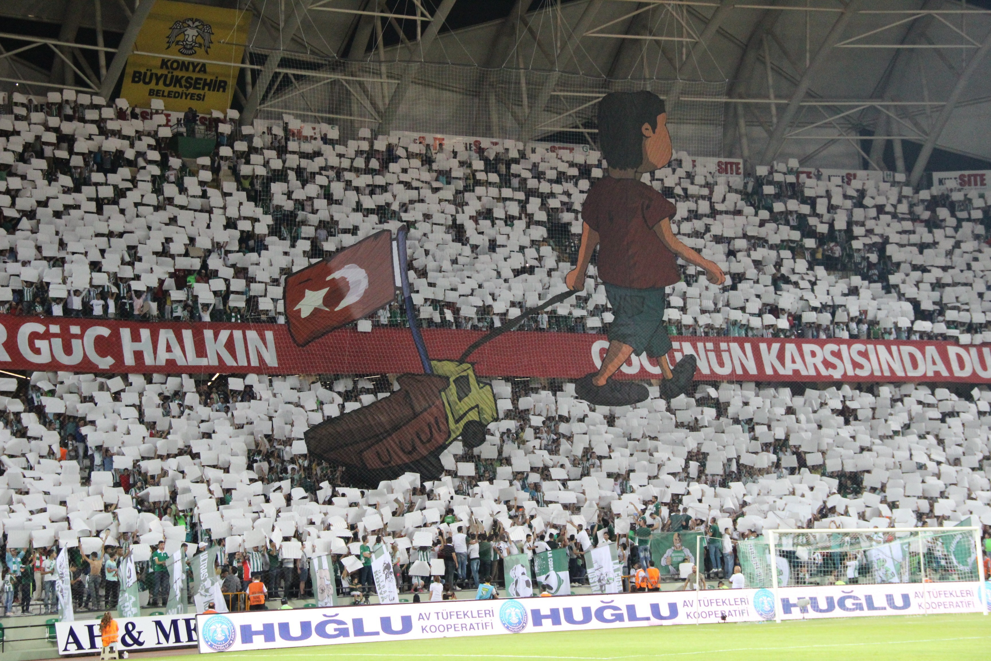 Düzceli Utku, Konya Arena'da