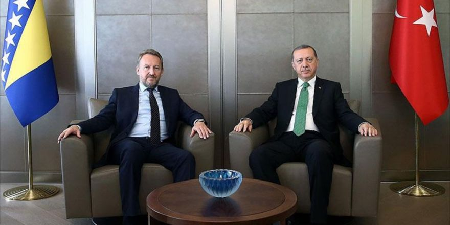 Erdoğan, Bosna-hersek Başkanlık Konseyi Üyesi İzzetbegoviç İle Görüştü