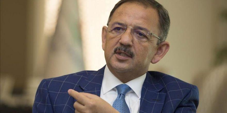 Çevre Ve Şehircilik Bakanı Özhaseki: Fetö'den Bin 142 Parsel Kurtardık