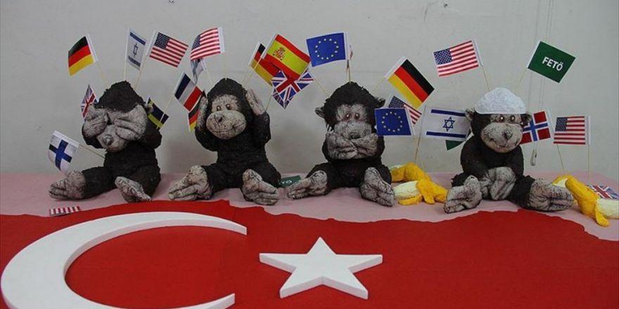 Fetö 'Dört Maymun' Sergisinde