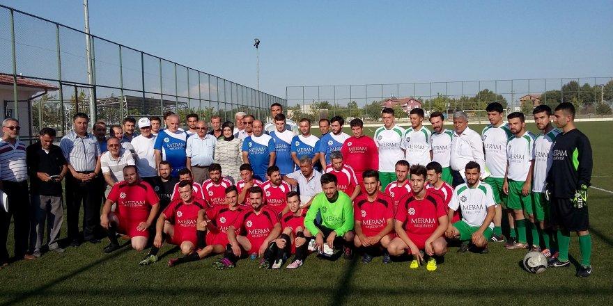Ömer Halisdemir Futbol Turnuvası başladı