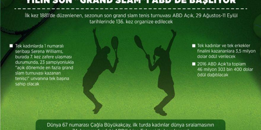 Yılın Son 'Grand Slam'i Abd'de Başlıyor
