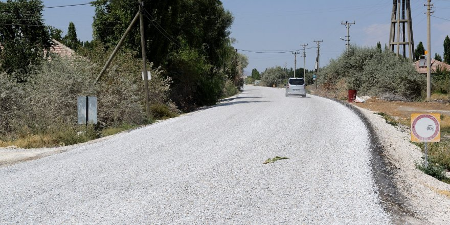 Ereğli'de 44 Kilometrelik grup yoluna 4,5 milyon lira
