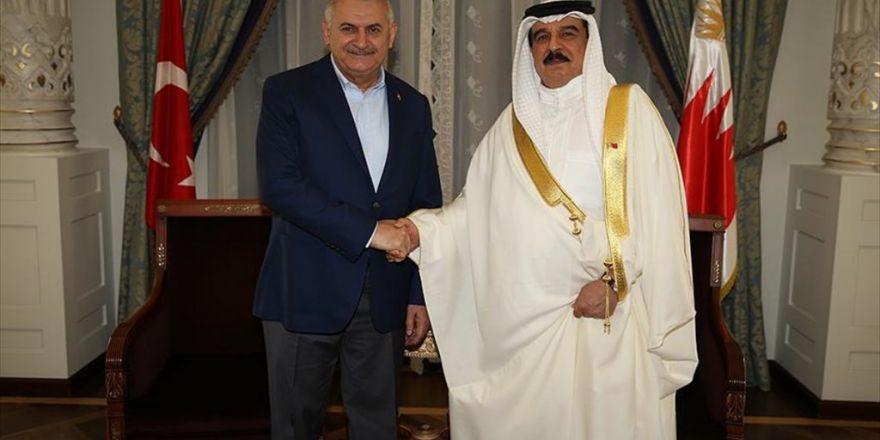 Başbakan Yıldırım, Bahreyn Kralı El Halife İle Görüştü
