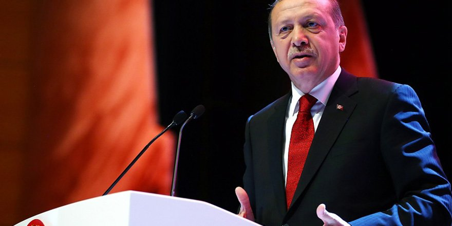 Cumhurbaşkanı Erdoğan Gaziantep'te konuşuyor