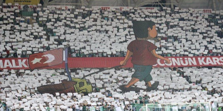 Atiker Konyaspor - Beşiktaş maçından kareler