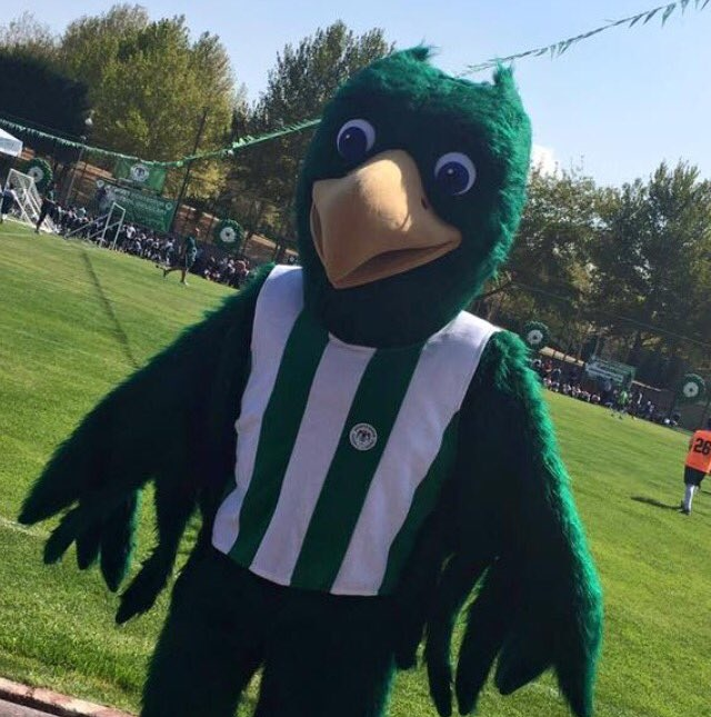 Konyaspor'un yeni  maskotu