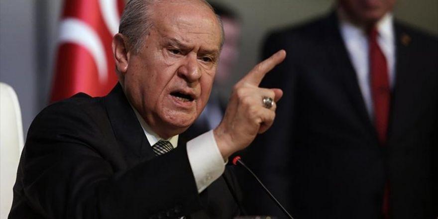 Mhp Genel Başkanı Bahçeli: Ne Kadar Katil Örgüt Varsa Alayını Birden İmha Edin