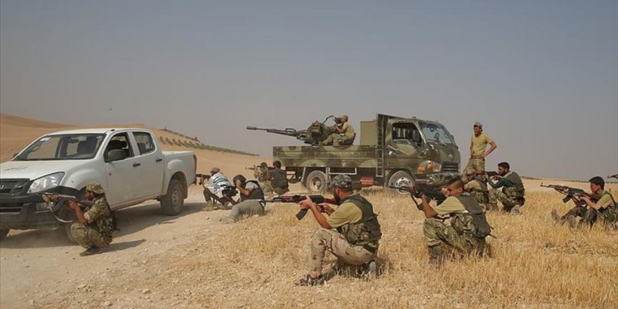 Aa, Öso'ya Bağlı Kuvvetlerin Ulaştığı Son Noktayı Görüntüledi