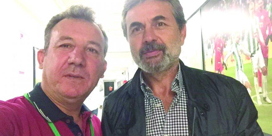 Mehmet Aktaş ve Aykut Kocaman'dan veda karesi