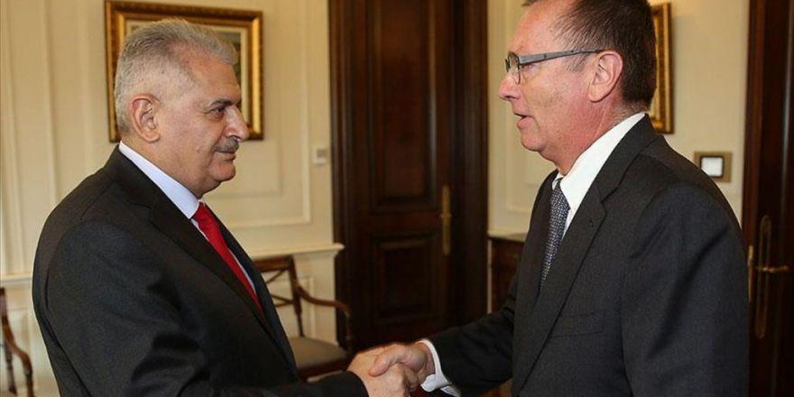Başbakan Yıldırım'ın Bm Genel Sekreter Yardımcısı Feltman'ı Kabul Etti