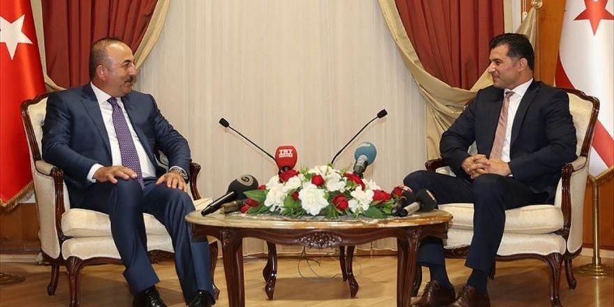 Dışişleri Bakanı Çavuşoğlu: Türkiye, Kktc'nin Yanında Olmaya Devam Edecek
