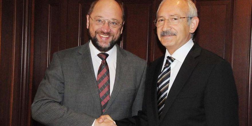 Kılıçdaroğlu İle Ap Başkanı Schulz Yarın Görüşecek