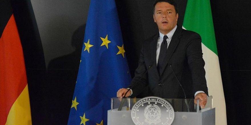 İtalya Başbakanı Renzi: Ab Geri Kabul Sürecini De İlerletmeli