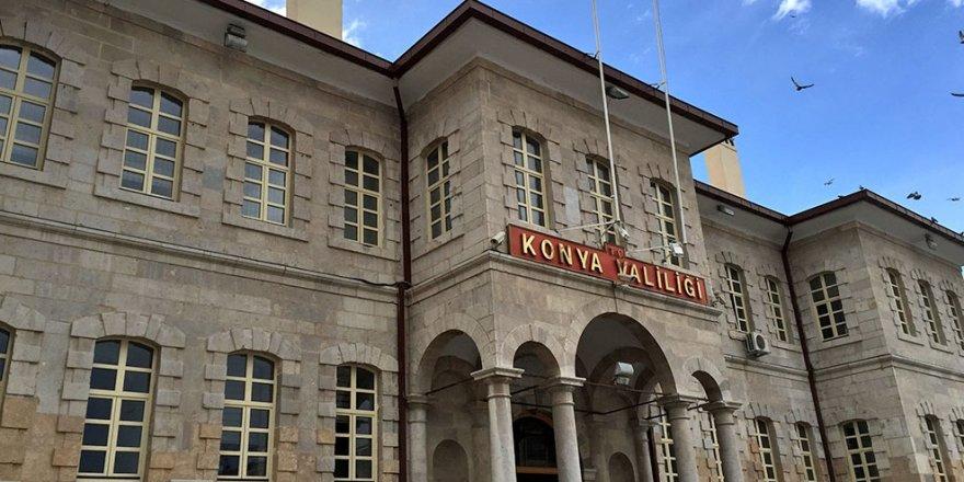 Konya Valiliği, açığa alınan ve tutuklanan kişi sayısını açıkladı