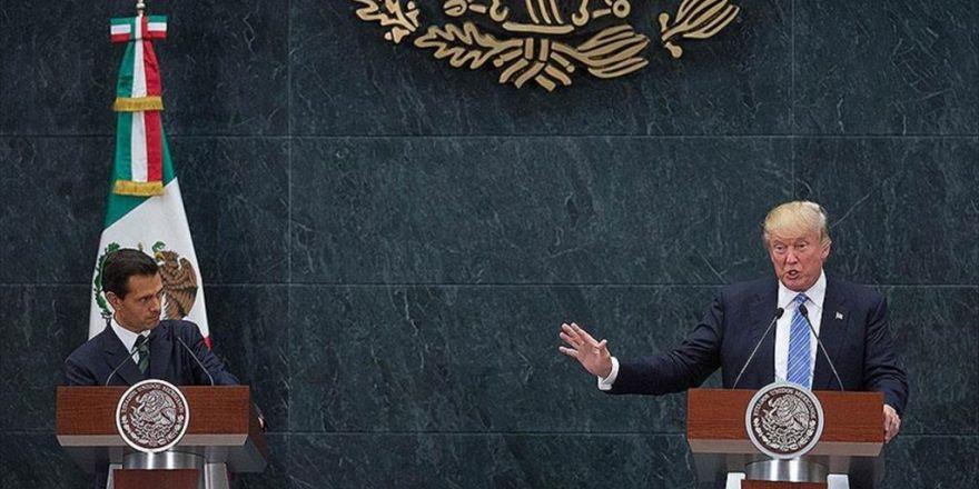 Trump, Meksika'da Da 'Duvarı' Savundu