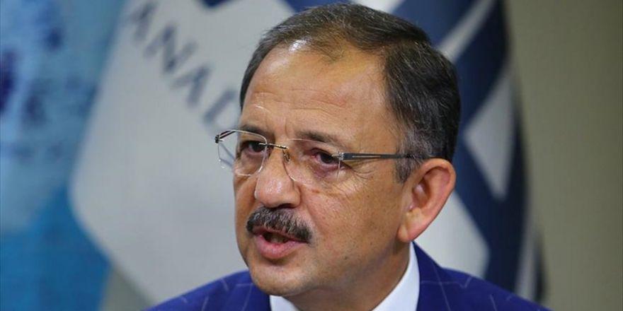 Çevre Ve Şehircilik Bakanı Özhaseki: Koruma Amaçlı İmar Planı Dışında Bir Şey Yapılmayacak