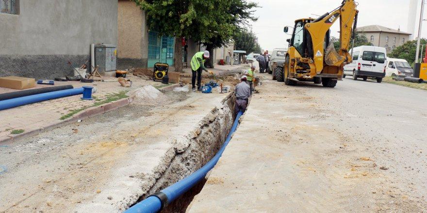 Kadınhanı'nın iki mahallesine 140 kilometrelik su şebekesi