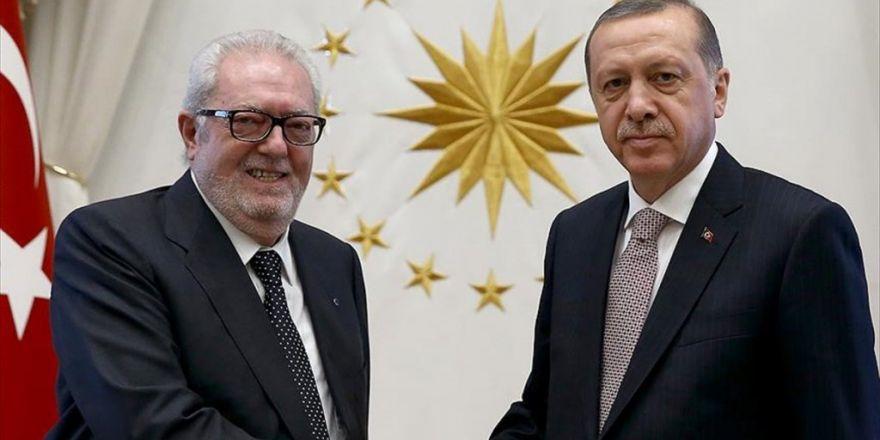 Cumhurbaşkanı Erdoğan'ın Akpm Başkanı Agramunt'u Kabul Etti