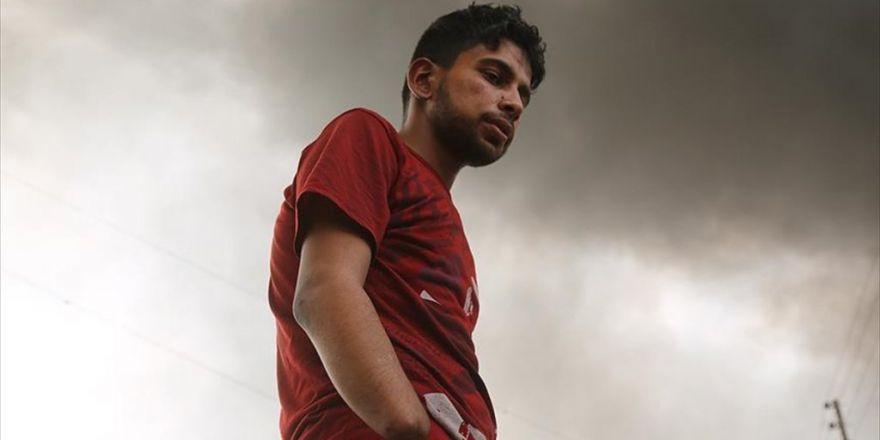 Daeş Iraklı Gencin Elini Kesti