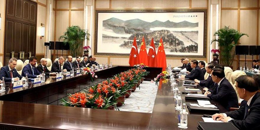 Türkiye İle Çin Arasında 3 Anlaşma İmzalandı