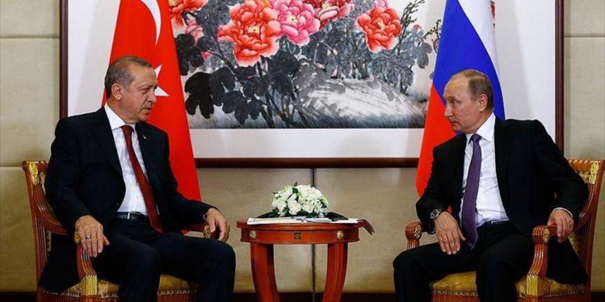 Erdoğan, Putin İle Görüştü
