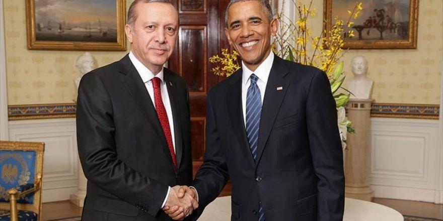 Cumhurbaşkanı Erdoğan İle Abd Başkanı Obama'nın Görüşmesi Başladı