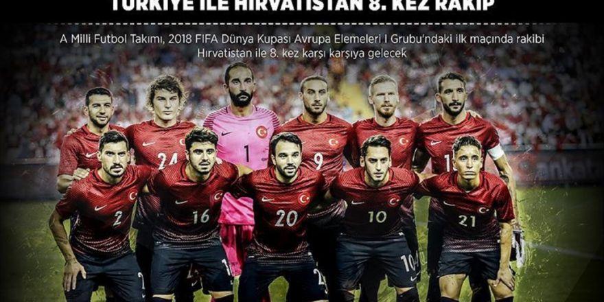 Türkiye İle Hırvatistan 8. Kez Rakip