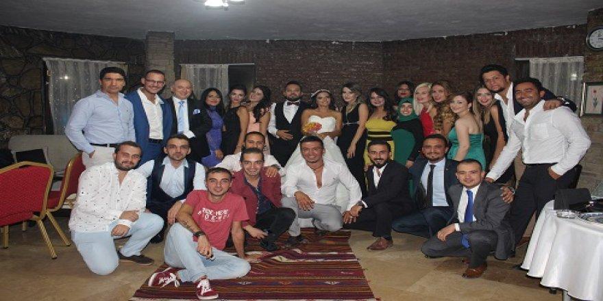 Konyaspor'lu Celalettin Yavuz oğlunu evlendirdi