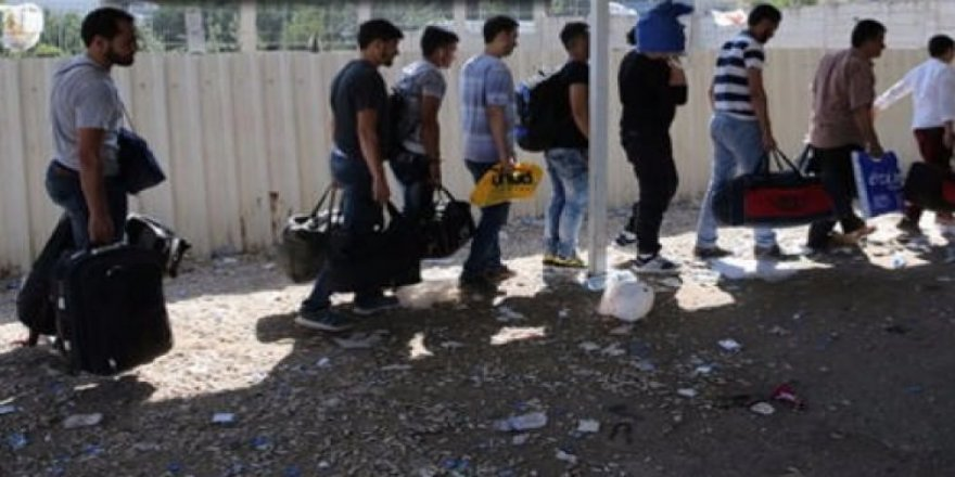Suriye sınırında 1632 kişi yakalandı