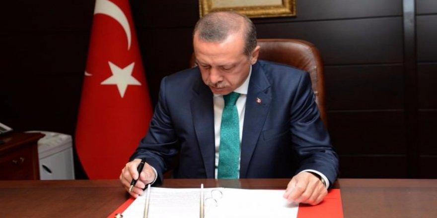 Erdoğan imzayı attı!