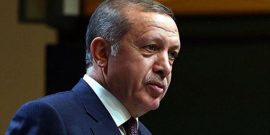 Erdoğan'dan Şehit Ailelerine Taziye Telgrafı