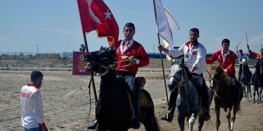 2. Dünya Göçebe Oyunları'nda Türkiye'ye Altın Madalya