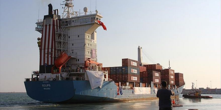 Türkiye'den Gönderilen İkinci Yardım Gemisi Gazze'ye Ulaştı