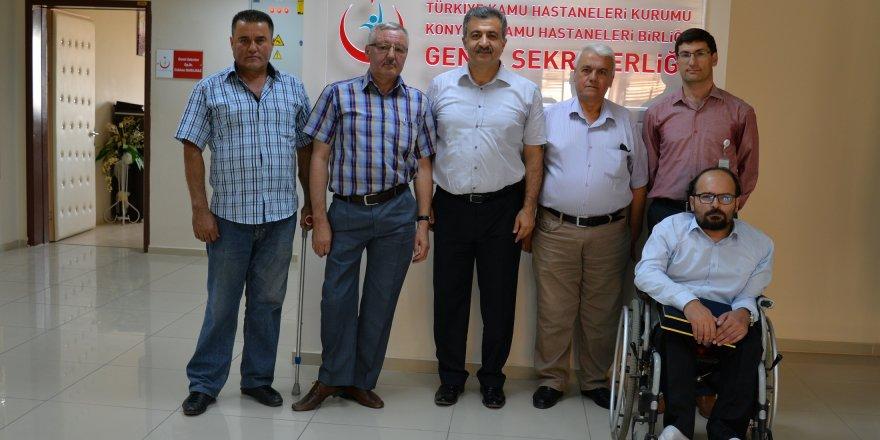 Konya KHB, engellilere hizmette Türkiye ikincisi