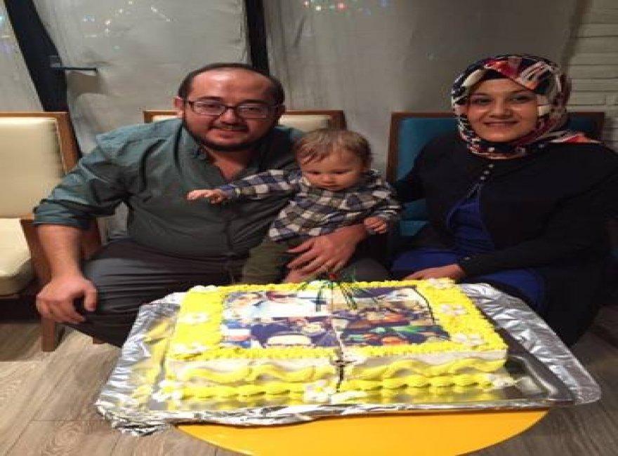 Ömer Ceylan'a muhteşem yaş günü kutlaması