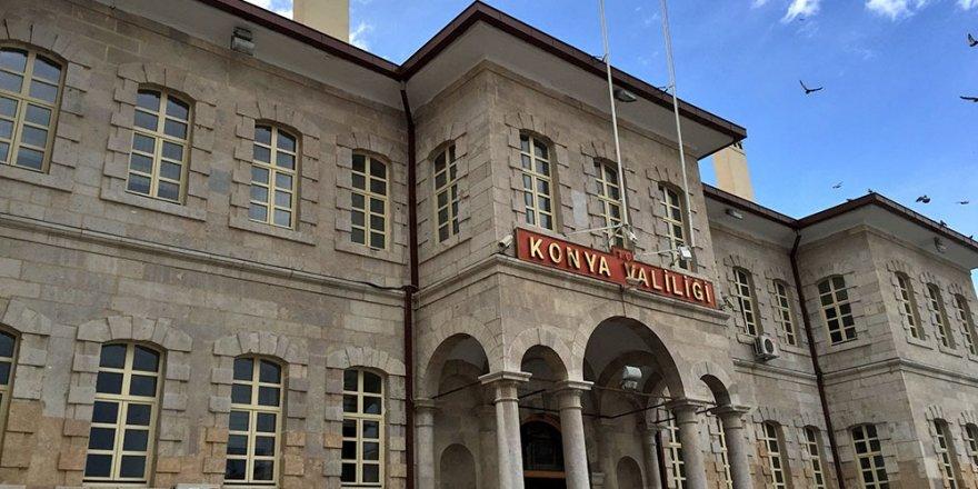Konya'da açığa alınan ve tutuklanan kişi sayısı